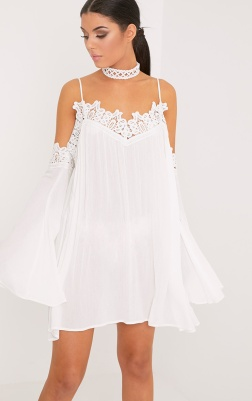 https://www.prettylittlething.com/maarisol-white-cheesecloth-cold-shoulder-choker-swing-dress.html